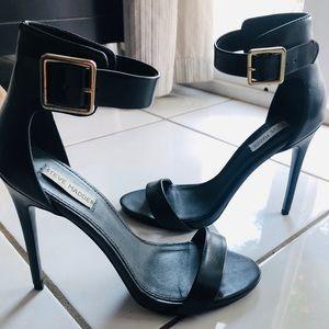 "Steve Madden Ankle Belt Wrap Shoe 3.5"""